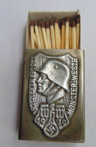 World War II matchbox  #37