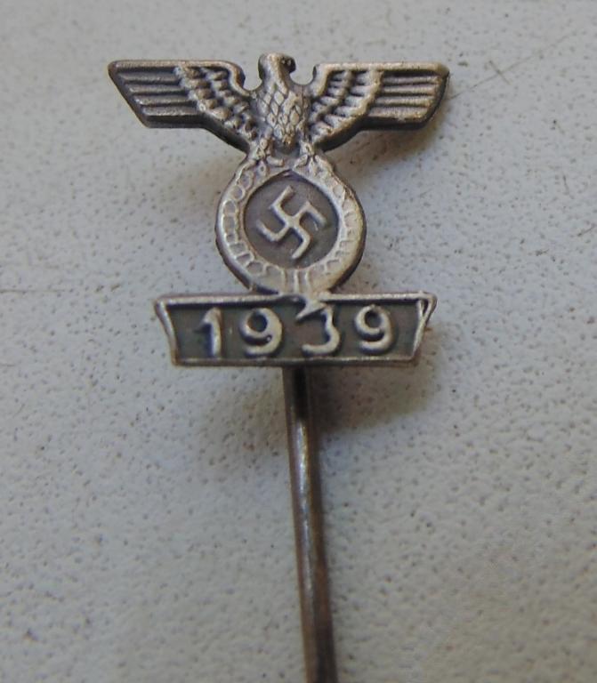World War I Frachnik re-awarding the Iron Cross  #61