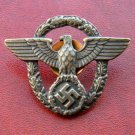 Cap Badge on the police cap