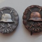 WW II THE GERMAN BADGE LW WH 2 sign WWI Wound (Bronze + Silver