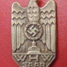 WW II THE GERMAN BADGE LW WH Sign of winter help the German people, obl.Saar