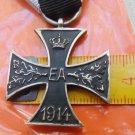 WW II THE GERMAN BADGE LW WH Braunschweig EA 1914. Cross Second Class