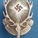 "WW II THE GERMAN BADGE LW WH  ""Union of hunters, gamekeepers"