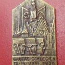 """WW II THE GERMAN BADGE LW WH  sign """"Gautas-Schlesien 12-14 juni 1936"""""""