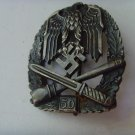 "WW II THE GERMAN BADGE LW WH sign ""for participation in the 50 common assault attacks"