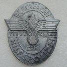 WW II THE GERMAN BADGE LW WH sign Bergwacht Hilfspolizei