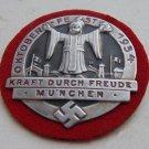 Sign OktoberFest 1934 KRAFT DURCH FREUDE MUNCHEN