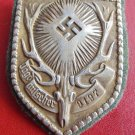 WW II THE GERMAN BADGE LW WH  sign of the German hunting society