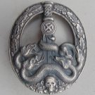 "WW II THE GERMAN BADGE LW WH The sign for the fight against the guerrillas in the ""silver"""