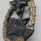 WW II THE GERMAN BADGE LW WH The sign of a tank battle.