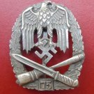 WW II THE GERMAN BADGE LW WH The sign for participation in the 75 common assault attacks.