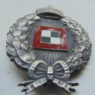 WW II THE GERMAN BADGE LW WH Sign observer pilot. P.M.V. Prussia