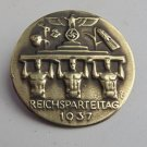 WW II THE GERMAN BADGE LW WH Imperial Badge  Party Congress in 1937