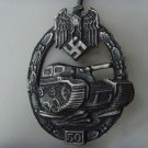 WW II THE GERMAN BADGE LW WH Qualifying badge For 50 tank attacks
