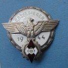"WWII THE GERMAN BADGE  Badge ""GAUSIEGER 1944 '"