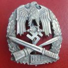 WWII THE GERMAN BADGE  Badge for participation in the 100 common assault am