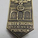 WW II THE GERMAN BADGE Memorable sign  1923-1933 Munchen