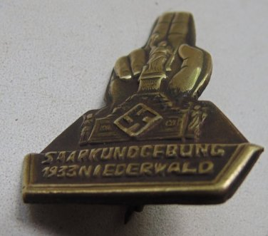 WW II THE GERMAN BADGE  Memorable sign