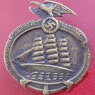 WWII THE GERMAN BADGE  Memorial Day icon of the German Navy in 1935.