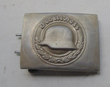 WWII  Buckle Steel Helmet organization.