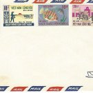 Air Mail envelope, Viet Nam 0001