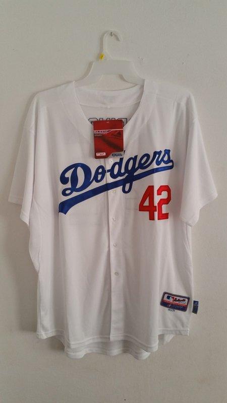 Los Angeles Dodgers #42 Jackie Robinson Stitched Throwback Jerseys      XXL-54