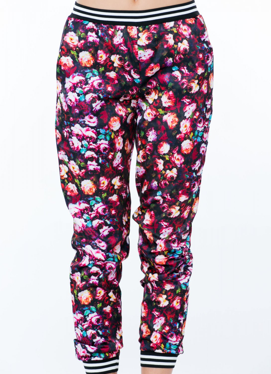Popular HOME  WOMENS SHOP BY BRANDS  ESSENTIALS  FLORAL PRINT JOGGER