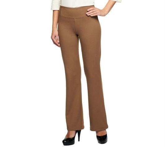 Women with Control Regular Seamed Waist Boot Cut Pants