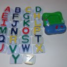 Leap Frog  Fridge Phonics Magnetic Alphabet Upper Case Letters ABC's Complete