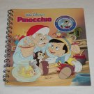 Story Reader Learning System Disney Pinocchio Replacement Book ONLY