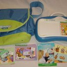Leap Frog Leap Pad Little Touch System Tote Bag 3 Cartridges Lot Baby Toddler