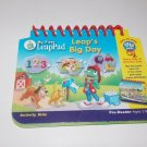 Leap Frog My First LeapPad  Leap's Big Day Book ONLY