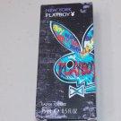 Playboy New York Eau de Toilette Men Splash Fragrance Perfume Parfum .5 oz Coty