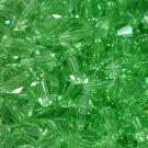 50 bicone beads 5 mm Chrysolite