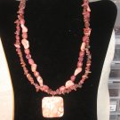 Pink Turquoise Two Strand