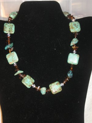 Gorgeous African Turquoise Set.