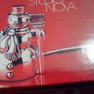 CANDLE SNUFFER/CHRISTMAS IS COMING/CANDLE/SNOWMAN/MINT IN BOX/STUDIO NOVA