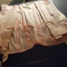 "CORSET/VINTAGE/BY ""SARONG INC.""/SIZE 27/100% COTTON/PINK/GARTERS ATTACHED/CORSET"