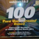 MUSIC/CD/PRE-OWNED/100 PURE UNDERGROUND DANCE/FULL LENGHT VERSIONS 1994/