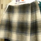 "Skirt Short ""CLOTHES CIRCUIT"" Vintage U.S.A. Made - Wrap Plaid Skirt  Miniskirt"