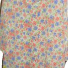 "Blouse Floral ""Tog Shop"" Never Worn-Lavender, Peach, Green White 18W. 3/4 Sleeve"