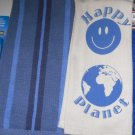 Kitchen BAR CAR - TOWELS CLEANING CLOTHS LOT OF 4 - BLUE  - GIFT - HOME- NEW