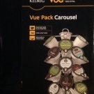 Kreuig Coffee Pod Holder - 24 Vue Packs Kreuig Pod Holder - Vue Pack Carousel