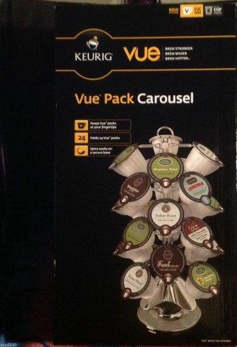 Kreuig Coffee Pod Holder - 24 Vue Packs Kreuig Pod Holder - Vue Pack Carousel