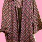 "Blouse BY""DRESSBARN""WOMAN-SZ 22-24-Blouse Attached Underpiece Multi-Color SALE!"