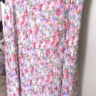 "Skirt 1x ""Jaclyn Smith"" Floral Print Multi-Color Fluted Hem SUMMERS END SALE NOW"