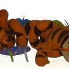 Tigger Winnie The Pooh Spring Tigger Coiled  With Bee Butterfly & Caterpillar