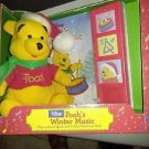 WINNIE THE POOH'S WINTER MUSIC PLAY-A-SOUND BOOK & PLUSH POOH BEAR. DISNEY -18 M