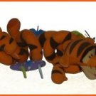 TIGGER FROM WINNIETHE POOH TIGGER PLUSH TOY COILED. 2006 FUN TOY FOR CHILD 3+
