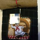 BAR KITCHEN BARBECUE-2 CHUBBY CHEF POTHOLDER (2) BLK.DISHCLOTH 1 LG. UTILITY TWL
